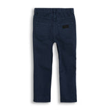 OLLIBIS Navy - 5 Pockets Baggy Fit Pants 2