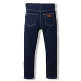 OLLIBIS Raw Denim Blue -  Woven 5 Pockets Tapered Fit Jeans 5