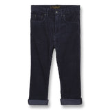 OLLIBIS Sailor Blue Jumbo Cord - 5 Pocket Baggy Fit Pants