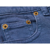 OLLIBIS Stone Blue - 5 Pocket Tapered Fit Jeans 5