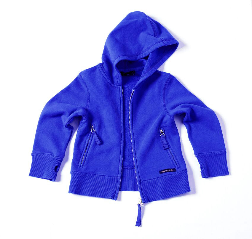 OUTLAW Storm Blue - Zipped Hoody