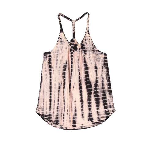 PALMER Chalk Pink Tie & Dye - Girl Tank Top