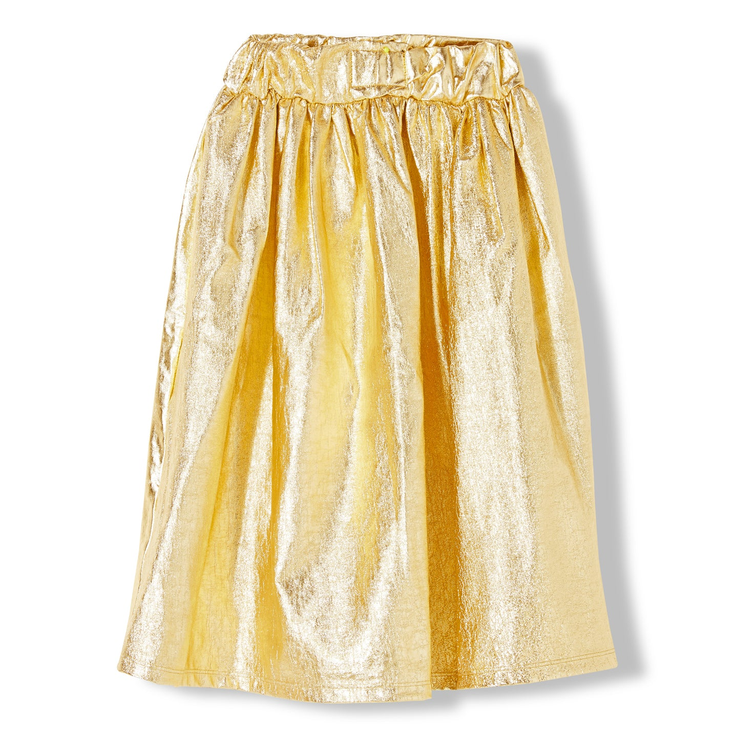PARTY Gold Metal -  Knitted Long Skirt