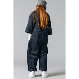 PENCIL Night Blue -  Woven Oversized Overall 4