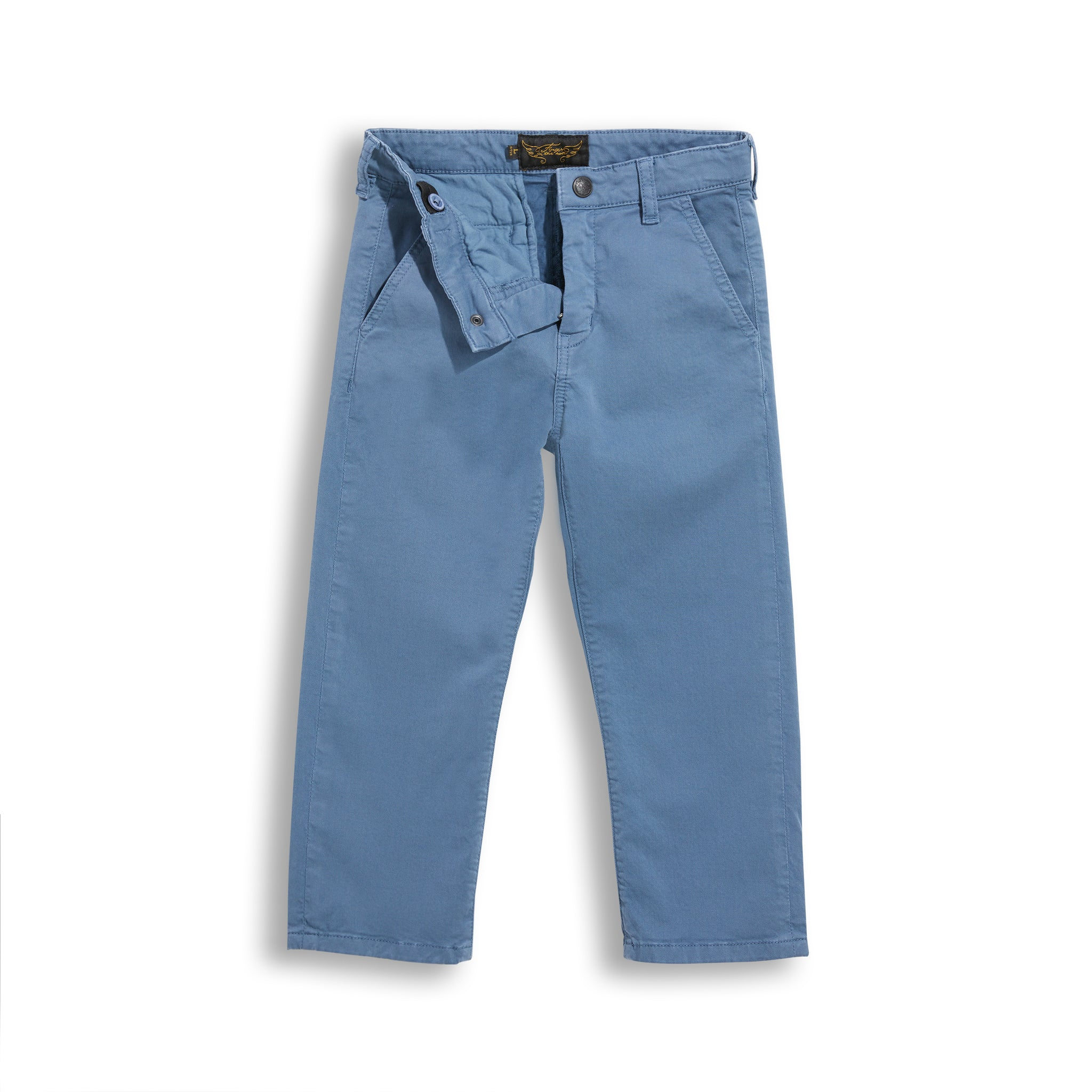 PORTMAN Stone Blue - Chino Fit Pants 3