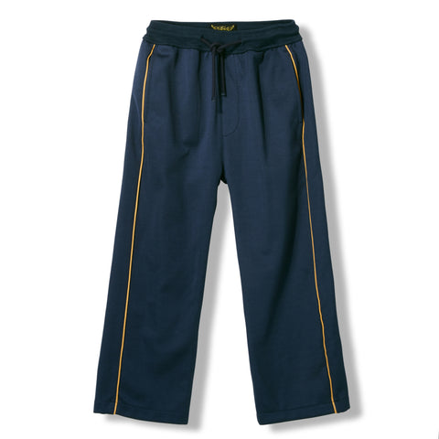 PRESCOTT Night Blue -  Knitted Fleece Jogging Pants 1
