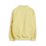 PRETENDER Pale Yellow Cord - Varsity Jacket