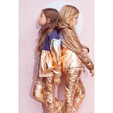 RAINBOW Copper Metal Colorblock - Tracksuit Jacket 2