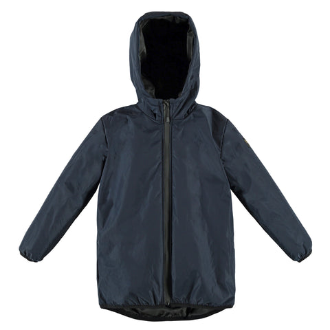 RAIN Super Navy - Girl Rain Parka