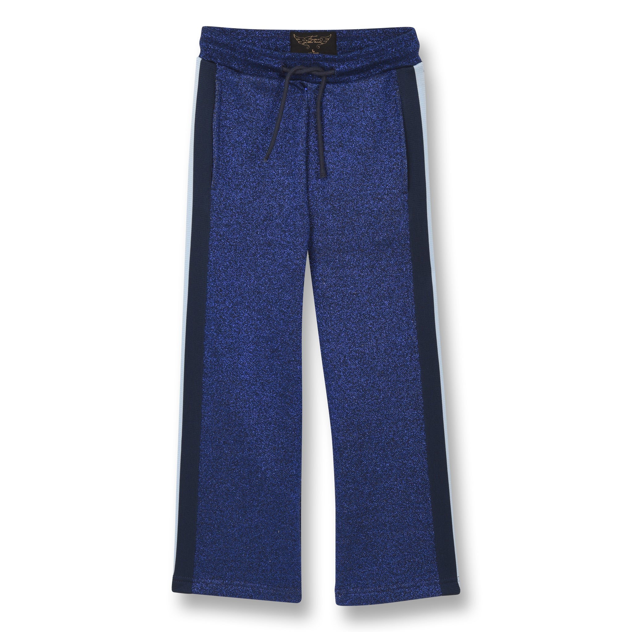 REY Glitter Blue - Wide Jogging Pants 1