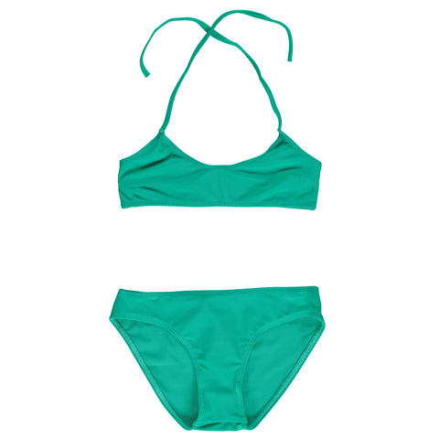 RIO Sea Green - Girl Bandeau Bikini