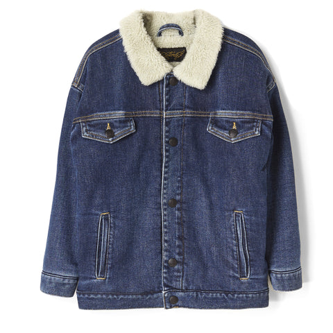ROAD Blue Denim - Oversized Denim Jacket