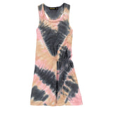 ROLL Vulcano Tie & Dye - Girl Jersey Sleeveless Dress