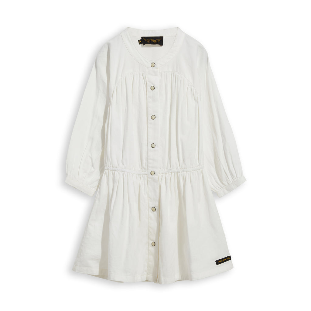 ROSELAKE Off White - Raglan Sleeves Dress 1
