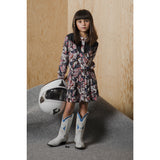 ROSEVILLE Multicolor Boots - Long Sleeves Shirt Dress