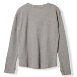 ROSS Heather Grey Honeycomb -  Knitted Honeycomb T-shirt 2