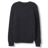 RUDY Dark Heather Grey -  Heavy Knitted Round Neck Jumper 2