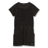 SCHOOL Vintage Black - Short Sleeves Dress 1