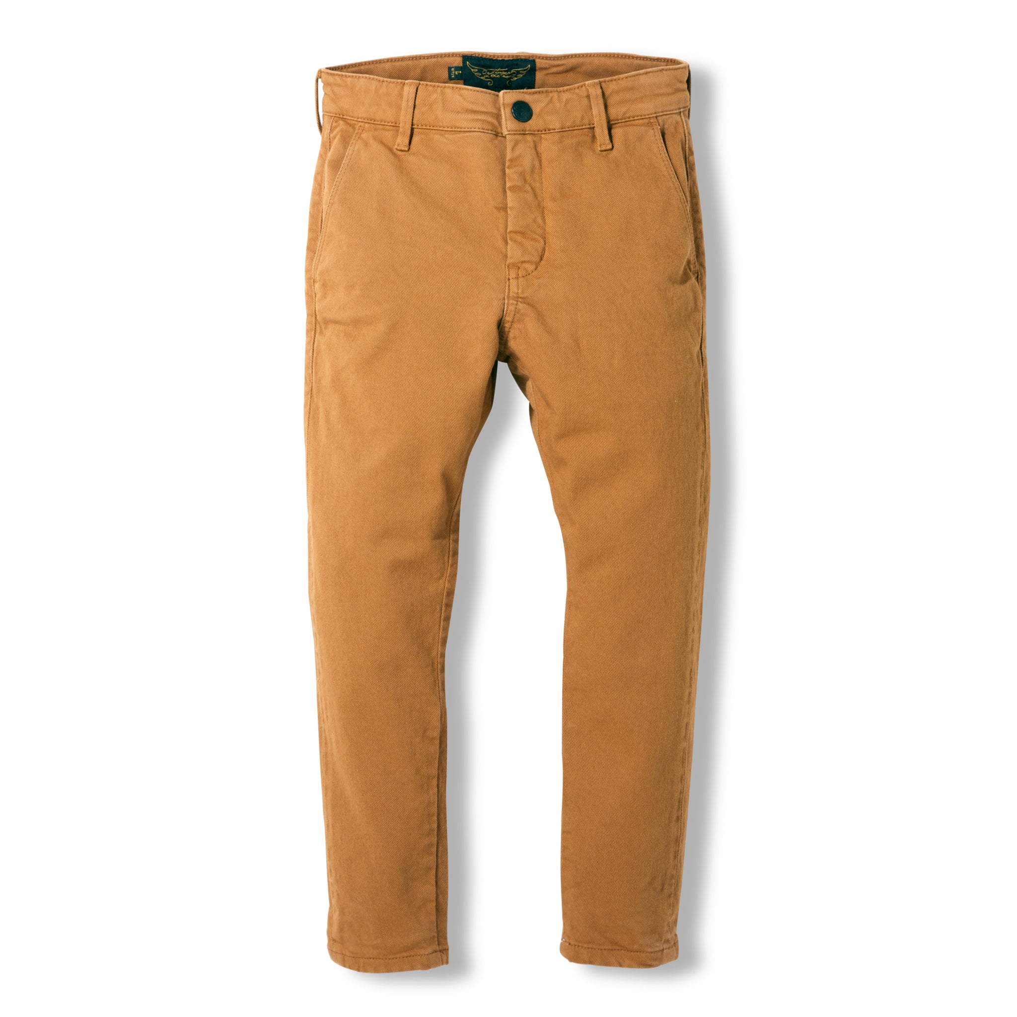 SCOTTY Caramel -  Woven Chino Fit Pants 1