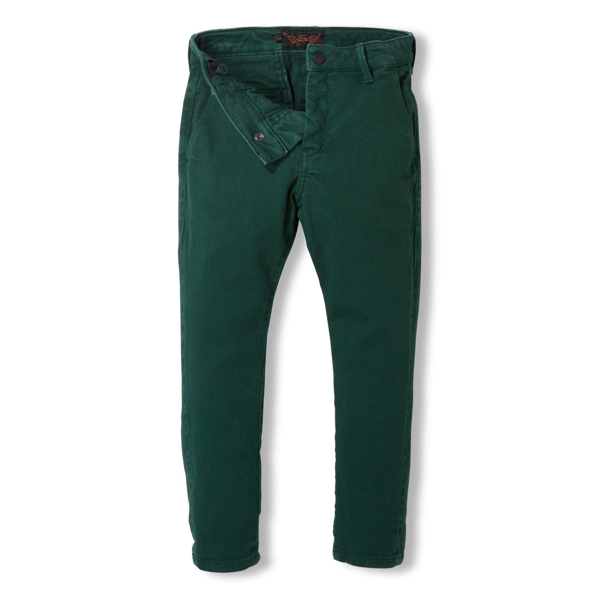 SCOTTY College Green -  Woven Chino Fit Pants 5