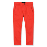 SCOTTY Poppy Red - Chino Fit Pants 1