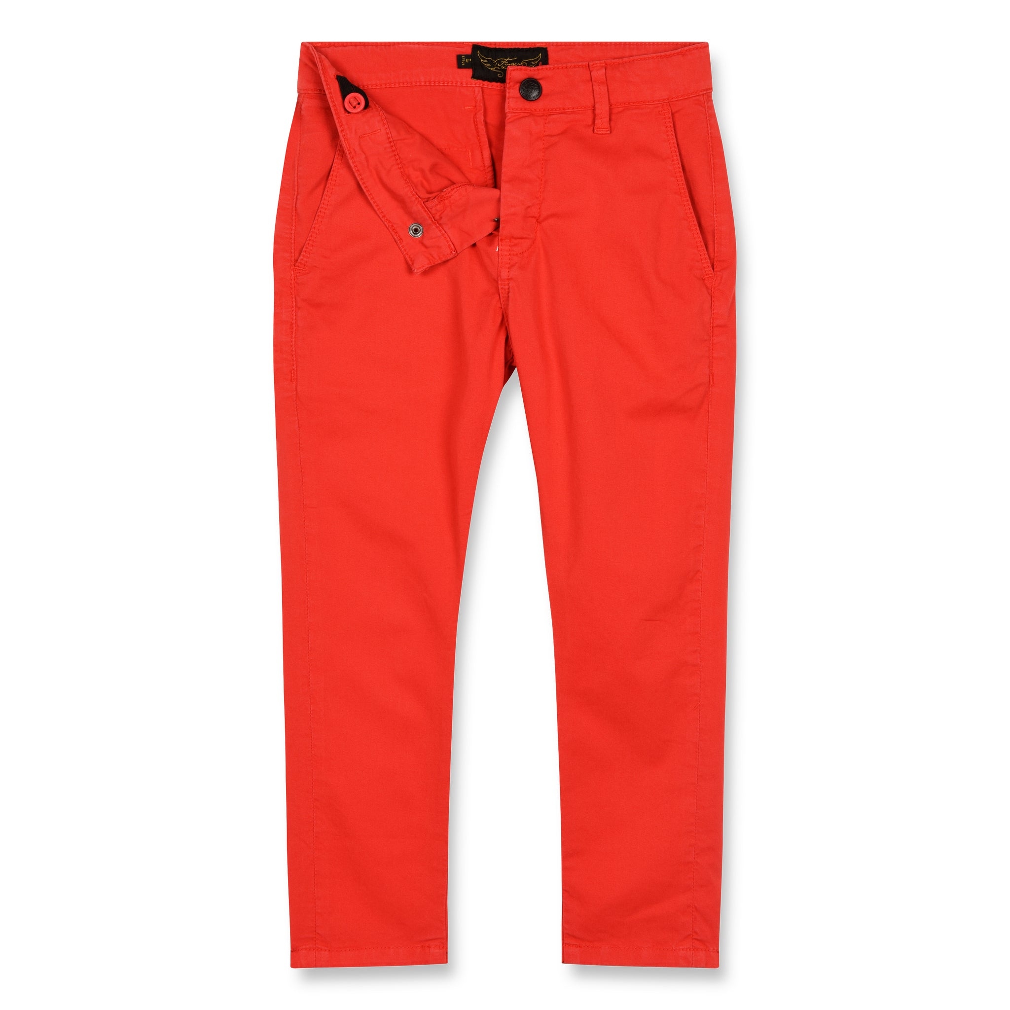 SCOTTY Poppy Red - Chino Fit Pants 2