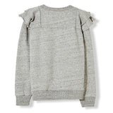 SHIBUYA Heather Grey -  Knitted Crew Neck Sweatshirt 2