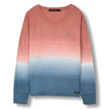 SHINE Old Pink Dip Dye - Long Sleeves T-shirt 1