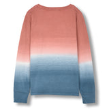 SHINE Old Pink Dip Dye - Long Sleeves T-shirt 2