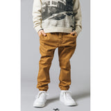 SKATER Caramel -  Woven Elasticed Bottom Chino Fit Pants 2