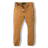 SKATER Caramel -  Woven Elasticed Bottom Chino Fit Pants 3