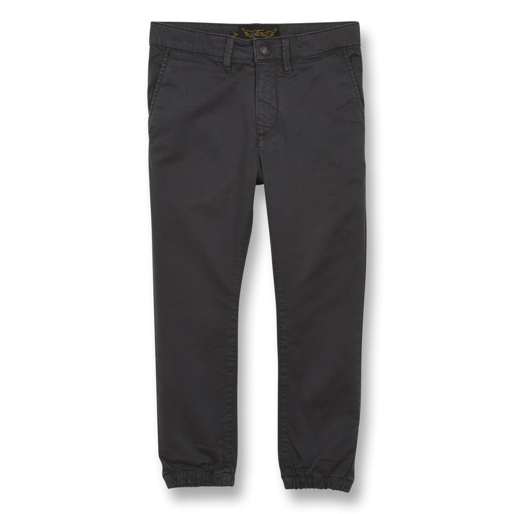 SKATER Convoy Grey - Elasticed Bottom Chino Fit Pants 1