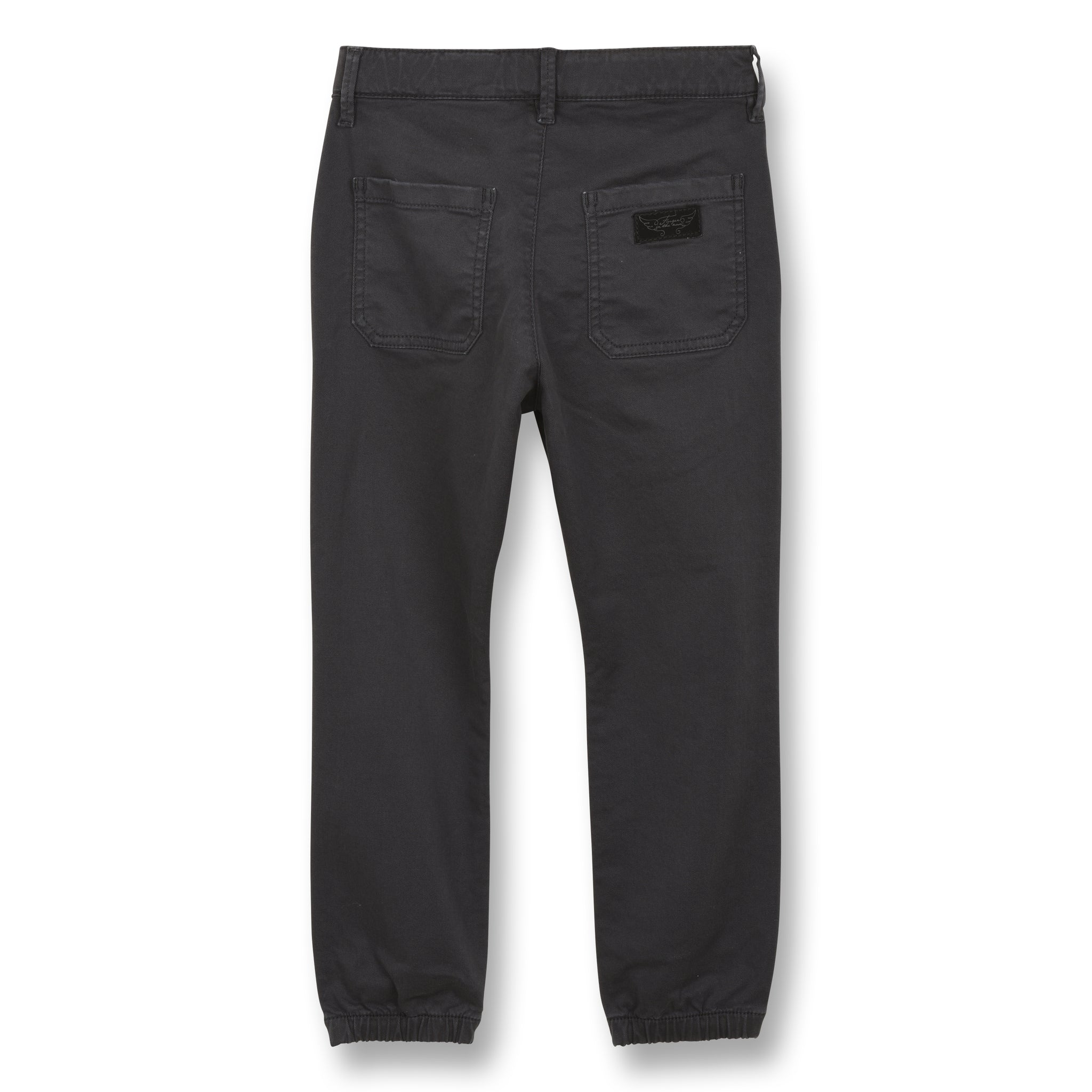 SKATER Convoy Grey - Elasticed Bottom Chino Fit Pants 2