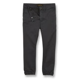 SKATER Convoy Grey - Elasticed Bottom Chino Fit Pants 3