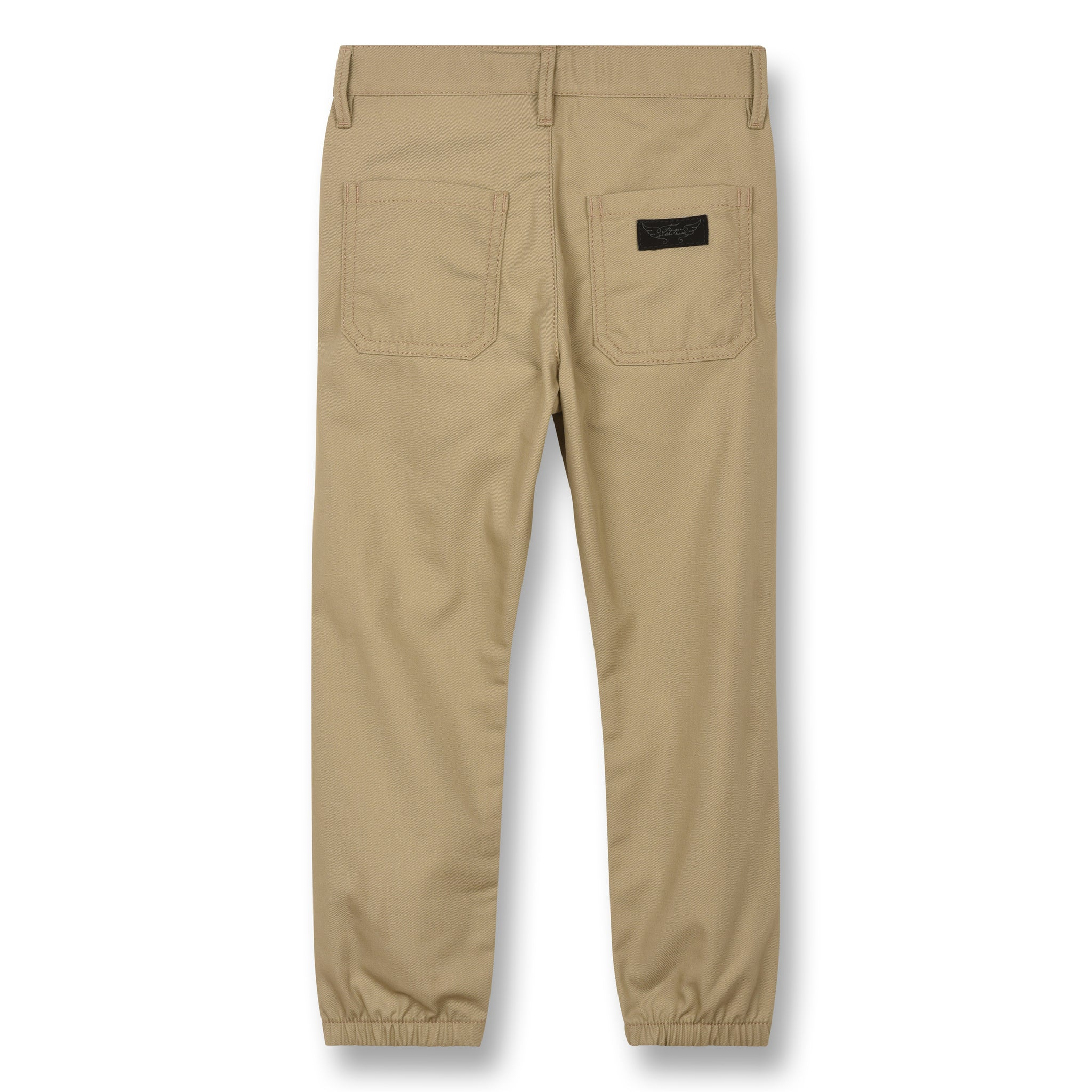 SKATER Linen - Elasticed Bottom Chino Fit Pants 2