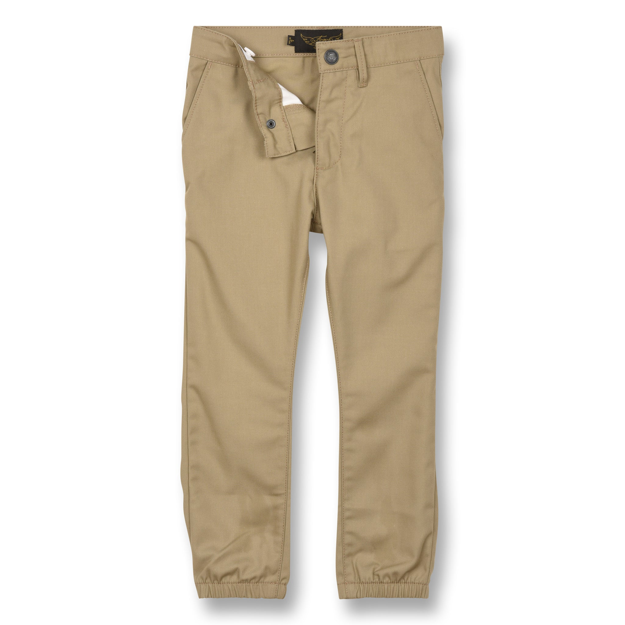 SKATER Linen - Elasticed Bottom Chino Fit Pants 3