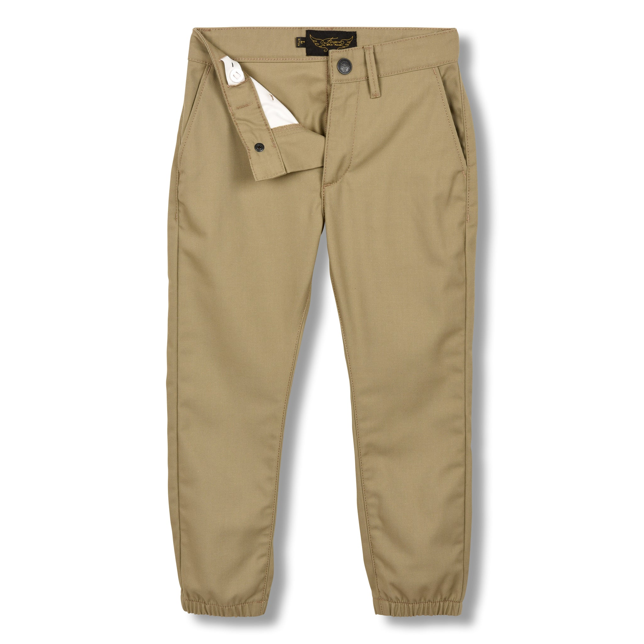 SKATER Linen - Elasticed Bottom Chino Fit Pants 4
