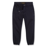 SKATER Super Navy - Elasticed Bottom Chino Fit Pants 2