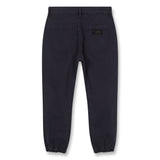 SKATER Super Navy - Elasticed Bottom Chino Fit Pants 3