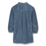 SKEENA Stone Blue Jumbo Cord - Long Sleeves Dress 2