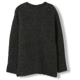 SKYLAR Dark Grey -  Heavy Knitted Oversized Jumper 1