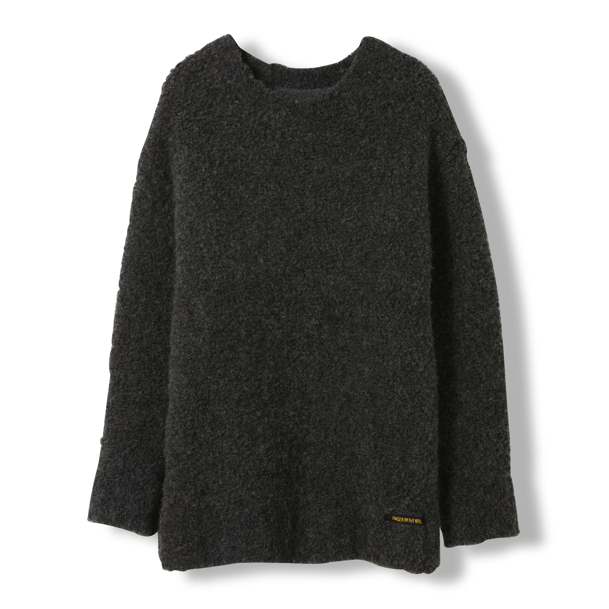 SKYLAR Dark Grey -  Heavy Knitted Oversized Jumper 2