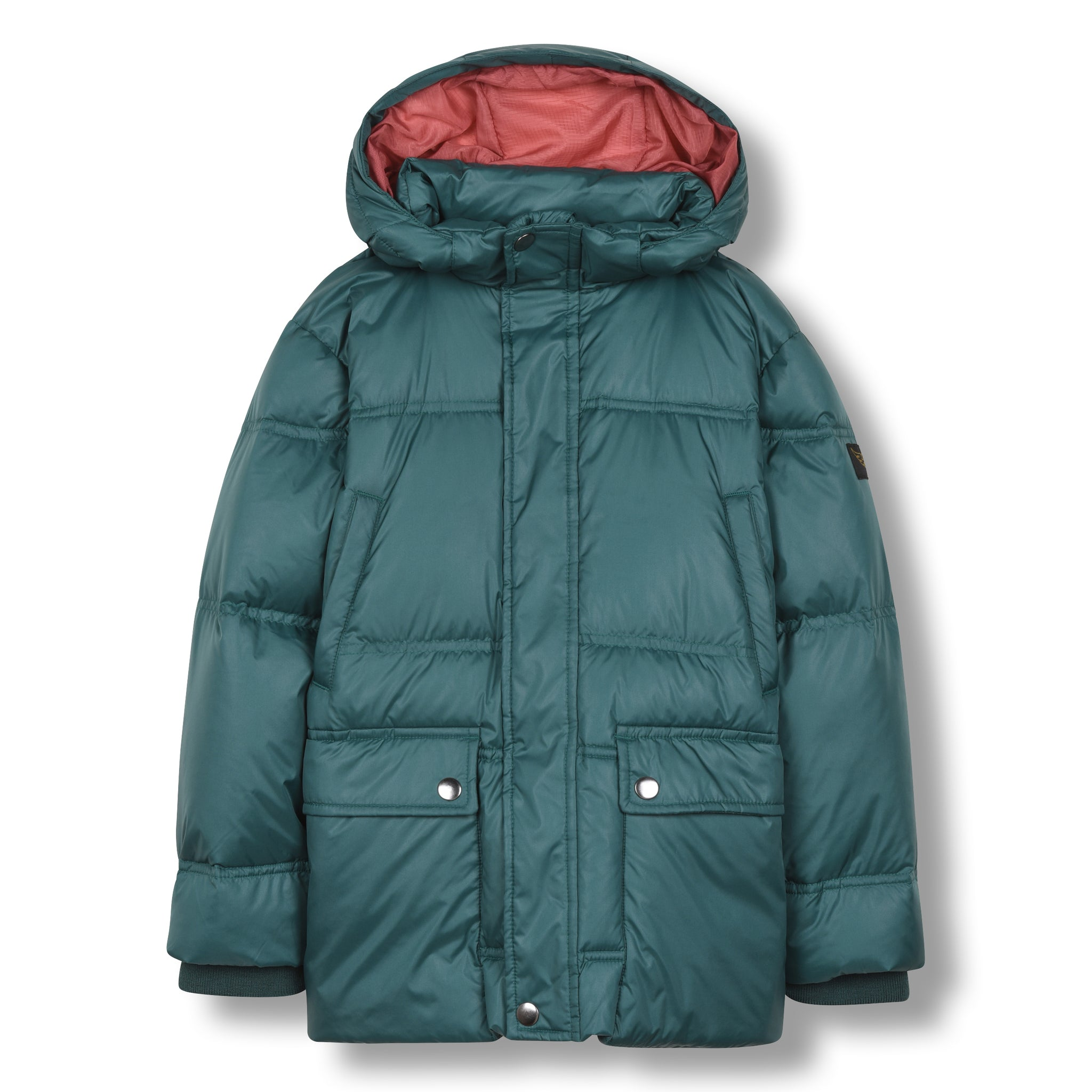 SNOWCAMP University Green - Zipped Down Parka 1