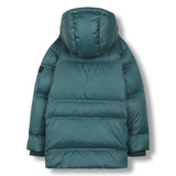 SNOWCAMP University Green - Zipped Down Parka 3
