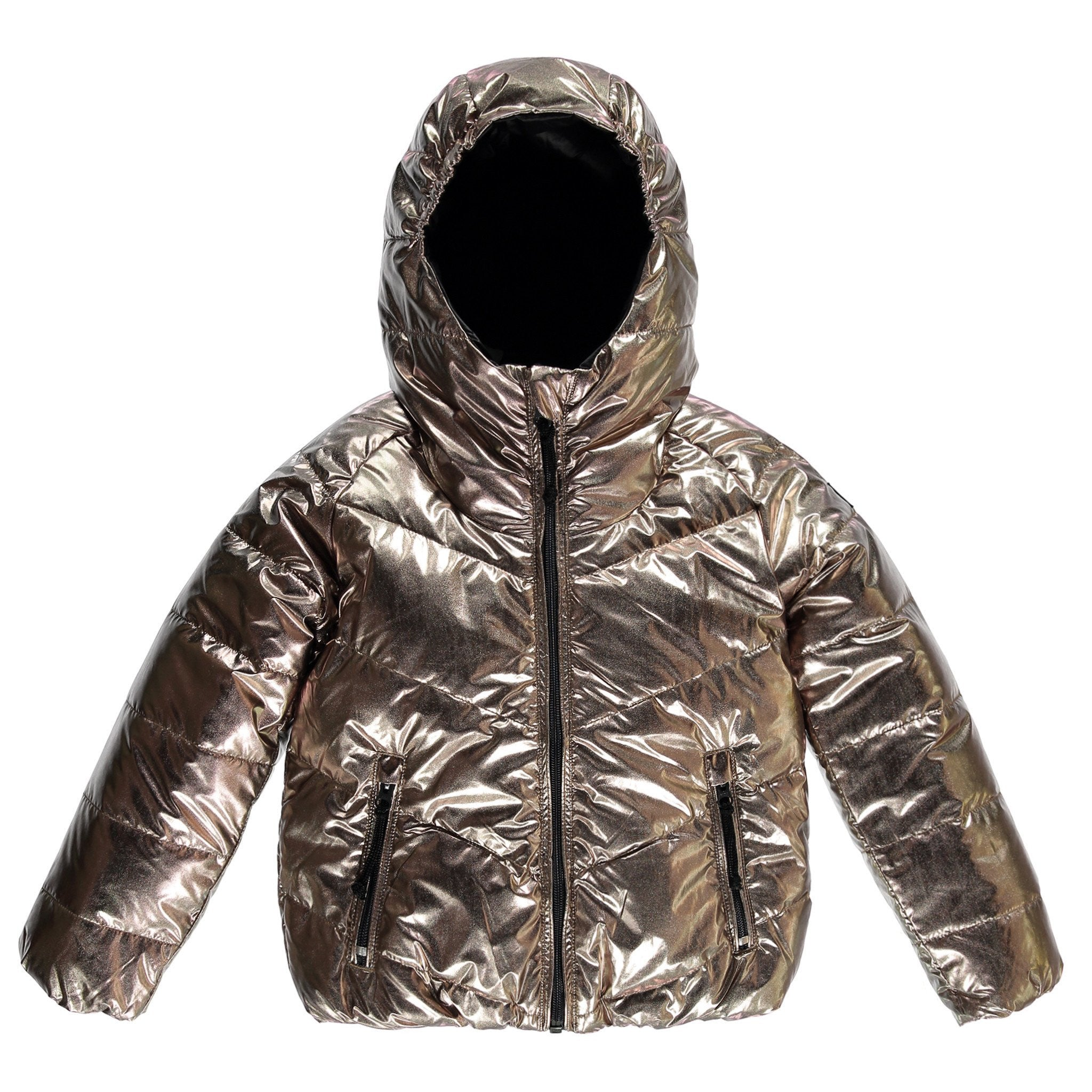 SNOWDANCE Copper Coal - Girls Reversible Downjacket