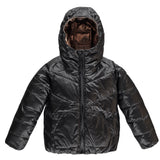 SNOWDANCE Cooper Coal - Girls Reversible Downjacket
