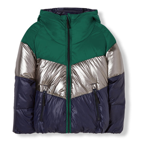 SNOWDANCE Navy - Reversible Down Jacket 1