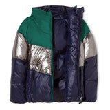 SNOWDANCE Navy - Reversible Down Jacket 2