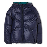 SNOWDANCE Navy - Reversible Down Jacket 4
