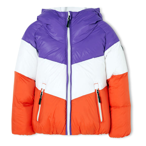 SNOWDANCE Off White - Reversible Down Jacket 1